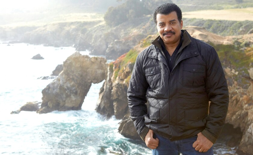 """Neil deGrasse Tyson in the broadcast premiere of """"Cosmos: Possible Worlds"""" on Fox."""