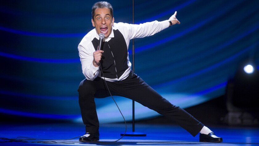 "Sebastian Maniscalco brings his ""Stay Hungry Tour"" to Viejas' Concerts in the Park on Aug. 18."