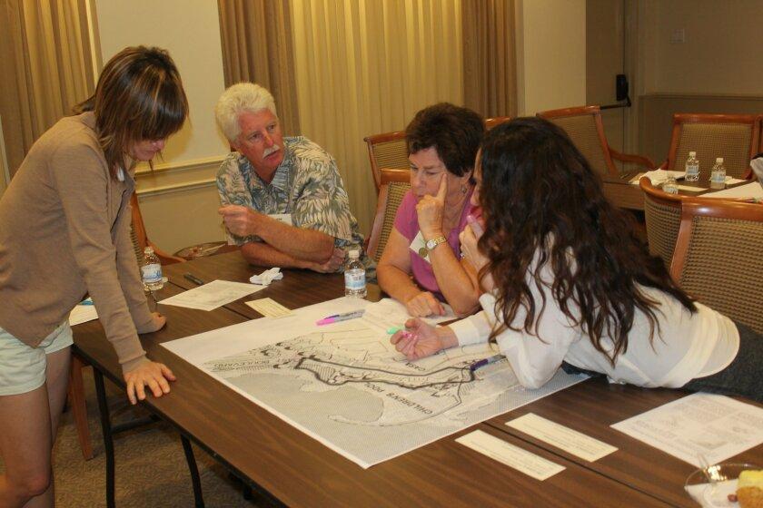 An Oct. 1 public workshop on beautifying Coast Boulevard walkways drew participants — and ideas.