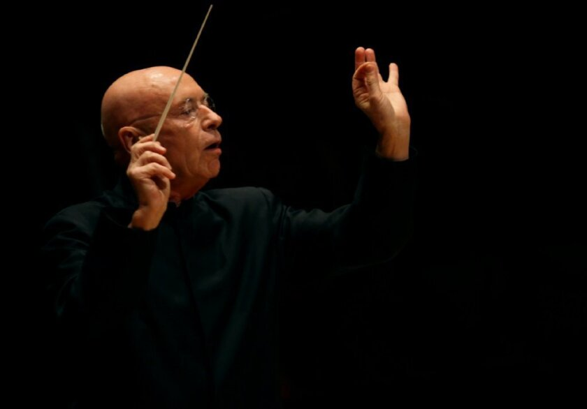 Conductor Christoph Eschenbach has canceled this weekend's appearances at Walt Disney Concert Hall with violinst Christian Tetzlaff.