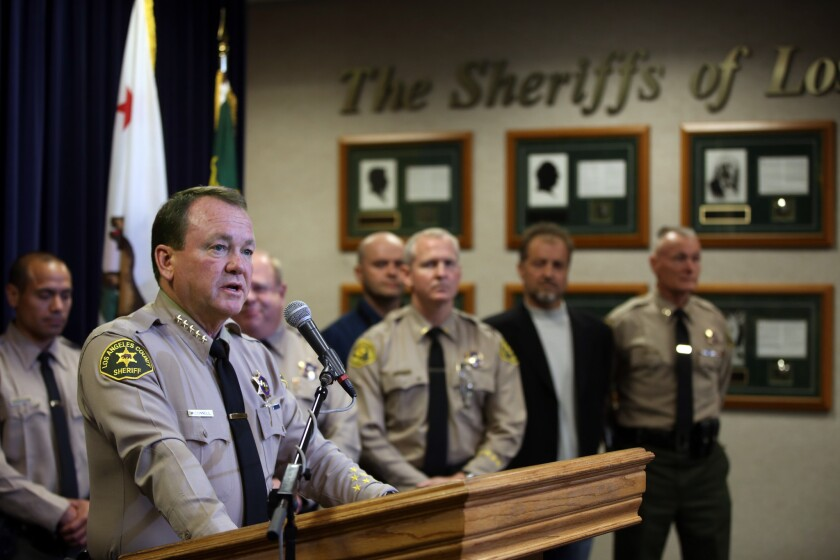Sheriff Jim McDonnell came into office in 2014 on a reform agenda.