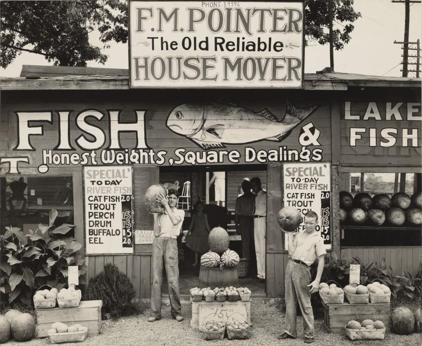 Roadside Stand Near Birmingham / Roadside Store Between Tuscaloosa and Greensboro, Alabama; Walker E