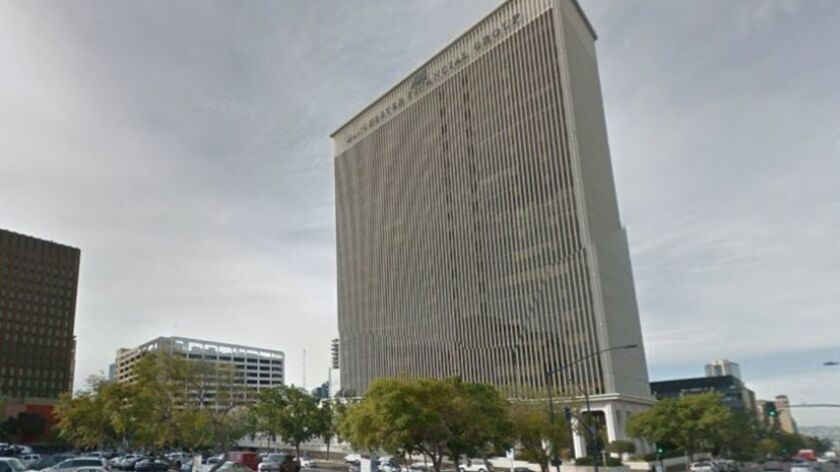 The former SDG&E;/Sempra Energy Building is being sold to Cisterra Development and leased to the city of San Diego under a pending deal with owner Sandor Shapery.