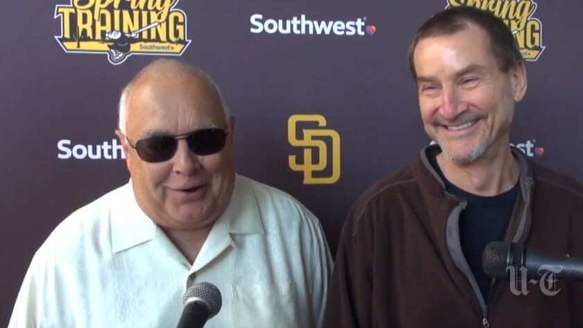 Padres Executive Chairman Ron Fowler and General Partner Peter Seidler