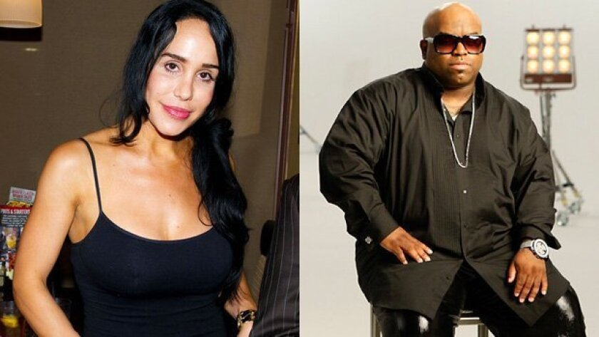 Octomom and Cee Lo Green are in the celebrity spotlight today