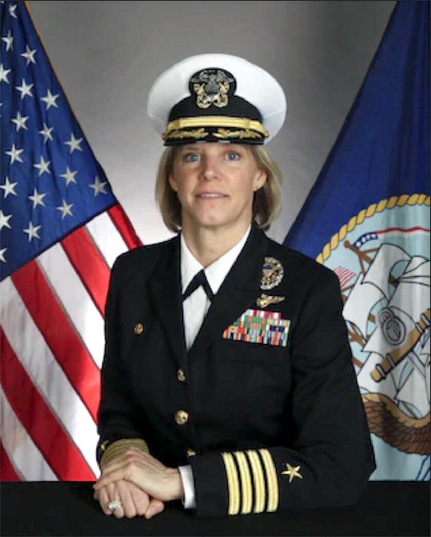 Capt. Amy Bauernschmidt will take command of the USS Abraham Lincoln this summer.