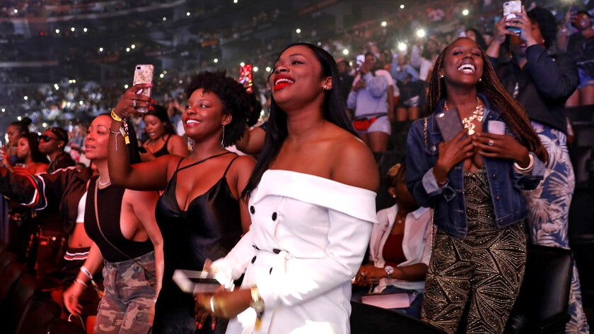 BET Experience at Staples Center