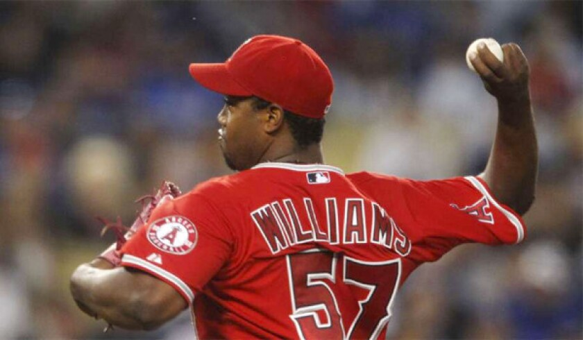 Angels don't extend contracts to four, including Jerome Williams