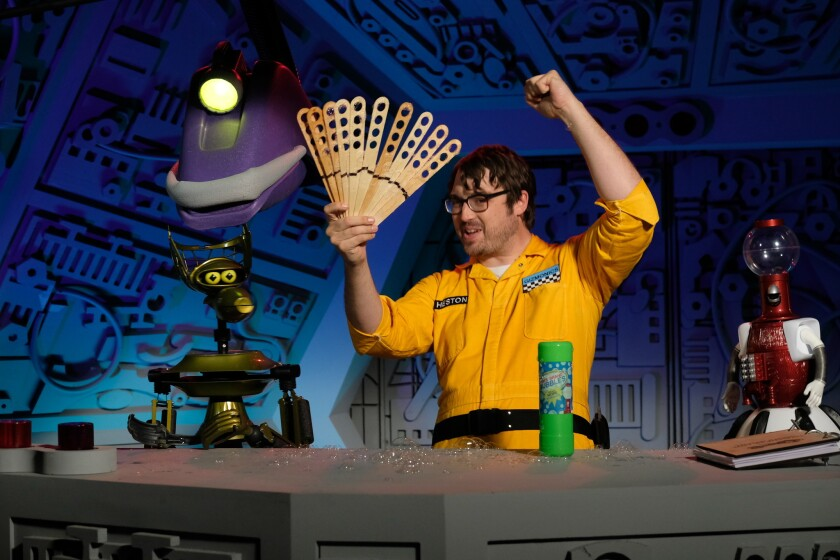 Set pics of 'Mystery Science Theater 3000'