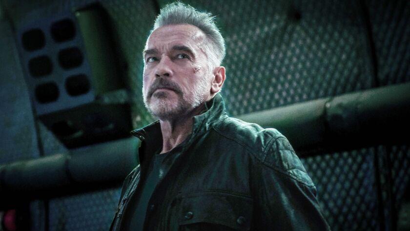 "Arnold Schwarzenegger in ""Terminator: Dark Fate"""