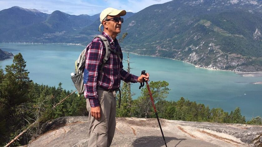 Authorities said Iranian Canadian environmentalist Kavous Seyed Emami, shown in a photo provided by his family, committed suicide in prison two weeks after his arrest.