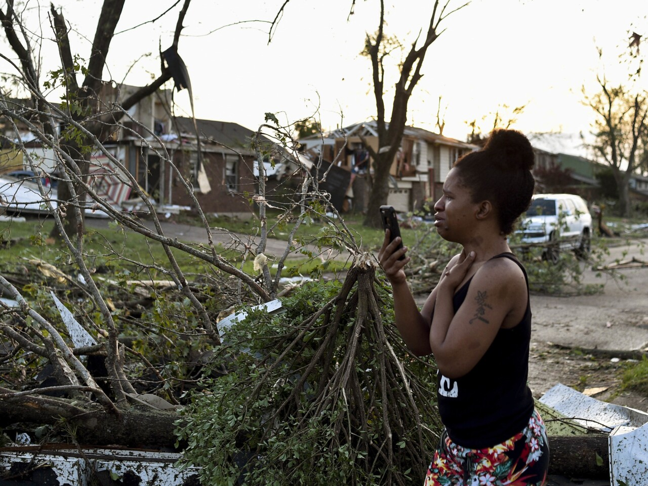 Tornadoes leave trail of destruction across Ohio and Indiana