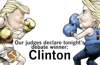 Who won the debate?