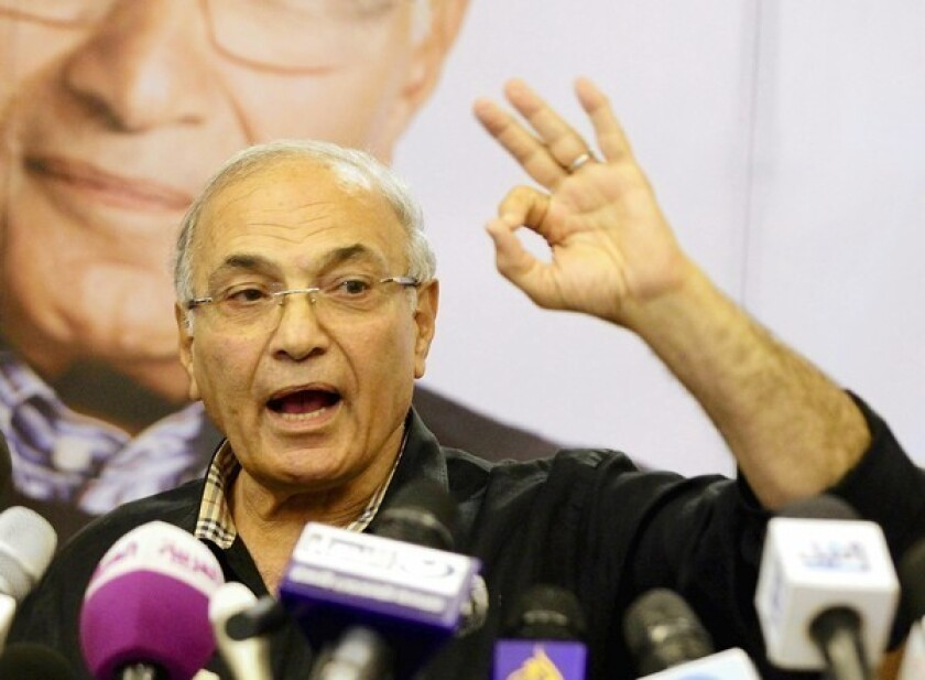 Ahmed Shafik is wealthy Egyptians' grudging candidate of choice for president. The affluent class sees him as a reassuring link to a law-and-order era.
