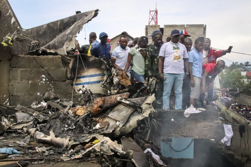 Congo plane crash
