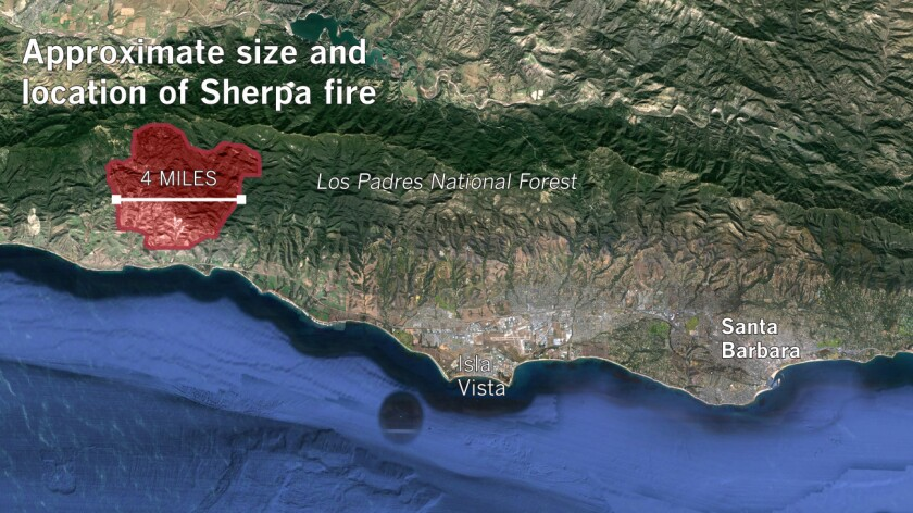 Sources: USDA Fire Service, Google Earth, Times reporting