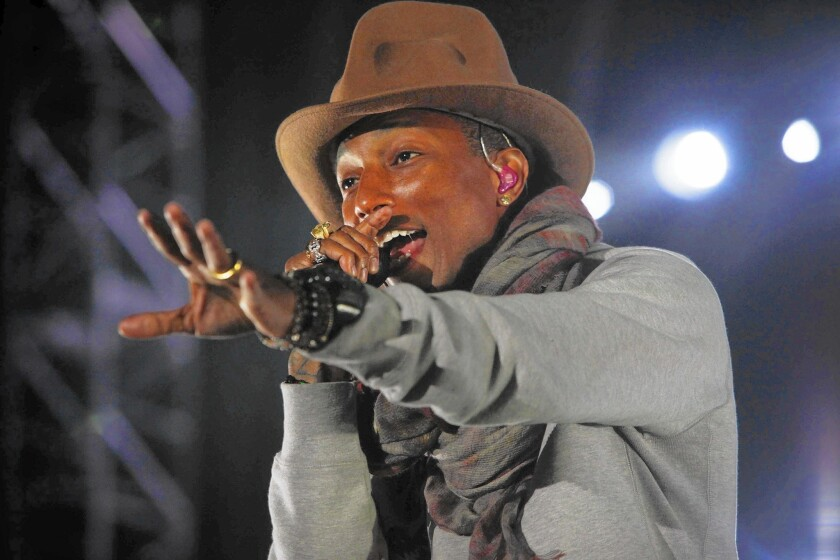 Pharrell Williams had a very 'Happy,' successful and stylish