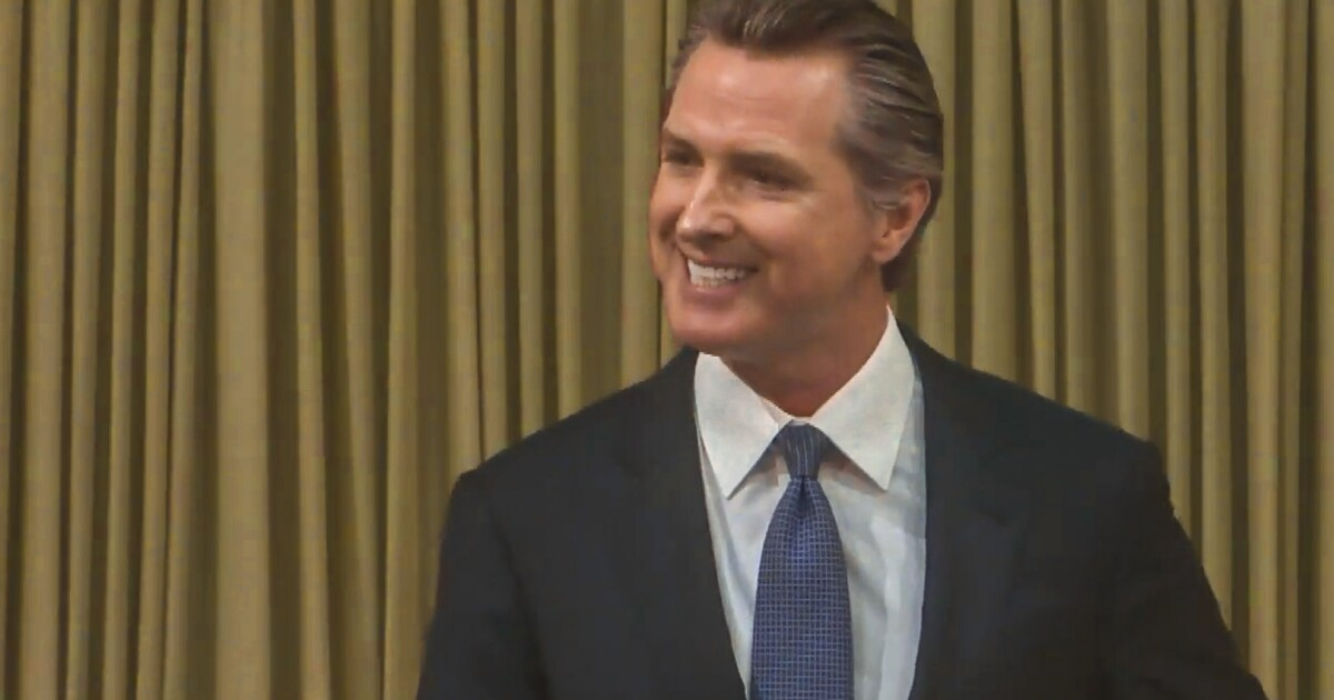 California's homelessness crisis is 'a disgrace,' Newsom says in State of the State address