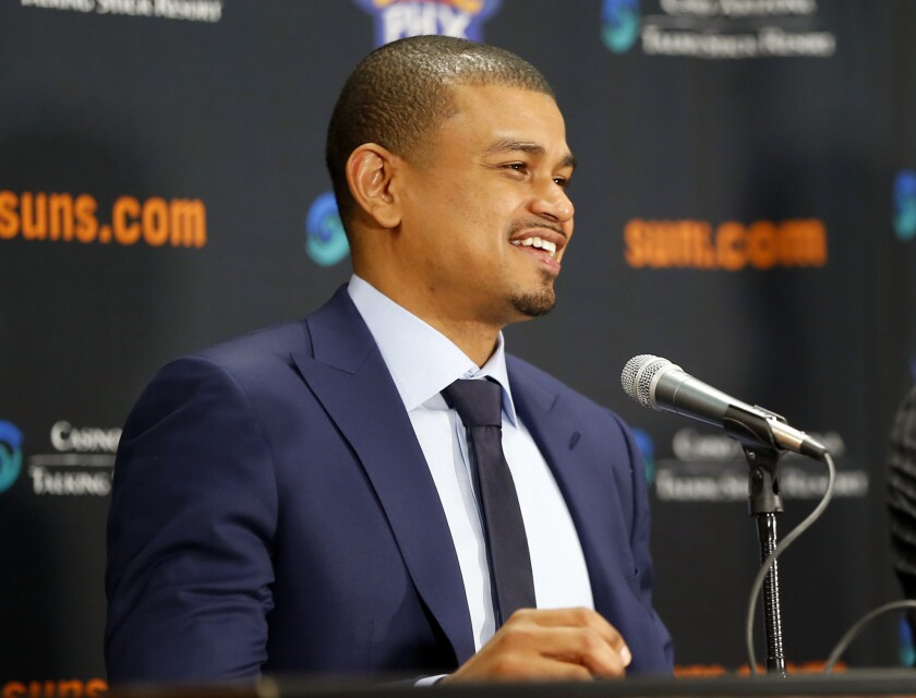 Phoenix Suns give Earl Watson a three-year contract to be head coach