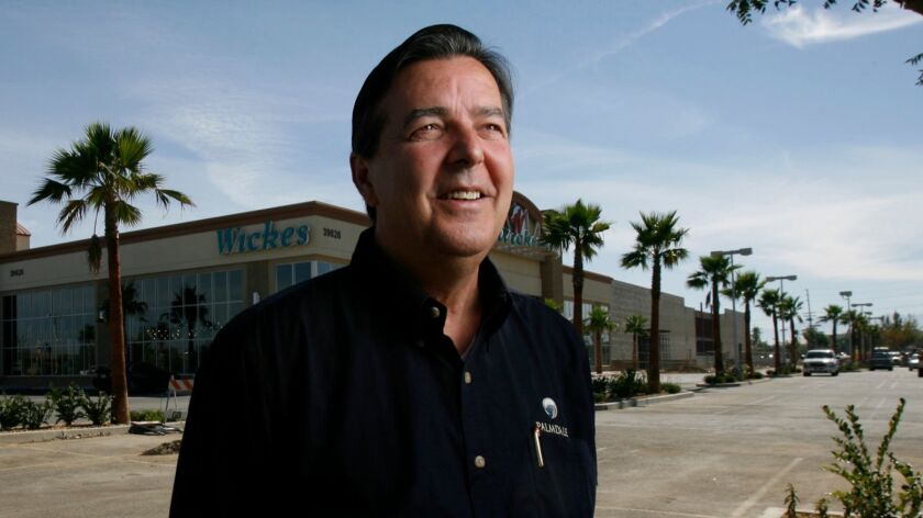 Chun, Myung J. –– – Palmdale Mayor Jim Ledford is behind the effort to bring upscale businesses to t