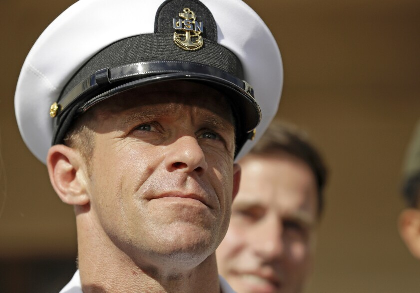 Navy Special Operations Chief Edward Gallagher.