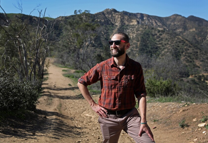 Casey Schreiner is blazing a Web trail for hikers