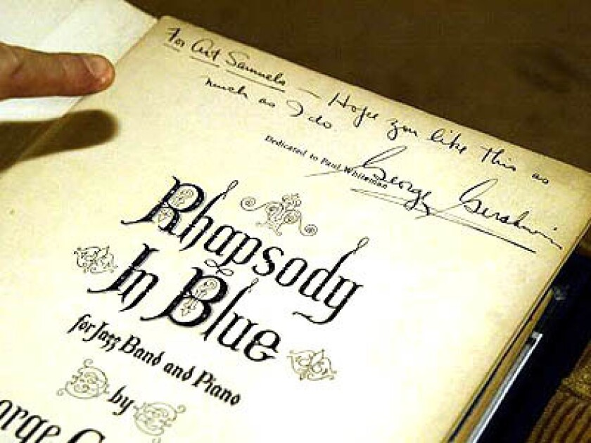 Editorial: 'Rhapsody in Blue' is in the public domain. Rap version, anyone?