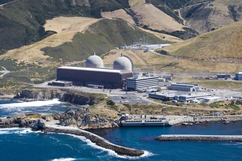 The Diablo Canyon Nuclear Power Plant in Avila Beach.