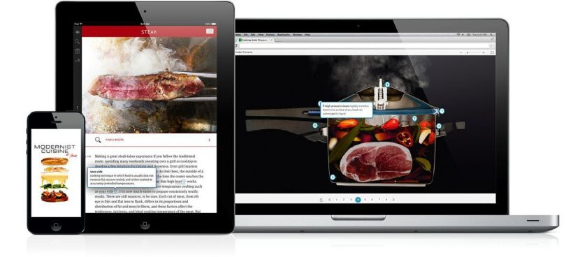 'Modernist Cuisine at Home' debuts as an eBook