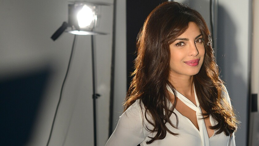 """Asked about color-blind casting, """"Quantico"""" lead Priyanka Chopra, a worldwide film and music star and former Miss World, says she thinks """"there are no boxes anymore. Anyone can be anything ..."""""""