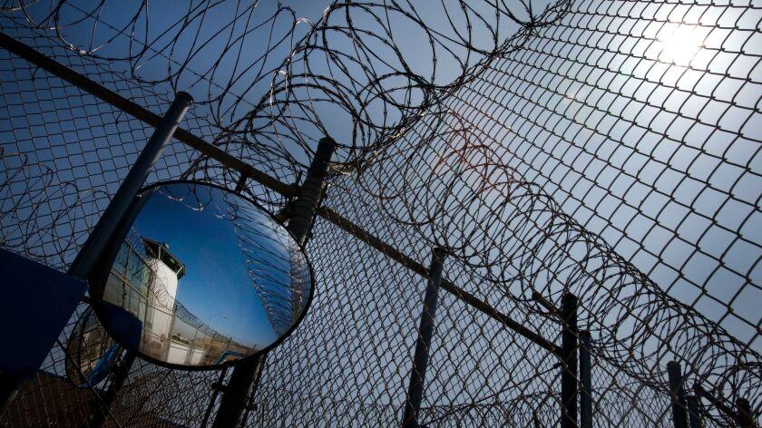 A 2012 photo of the Richard J. Donovan Correctional Facility near Otay Mesa.