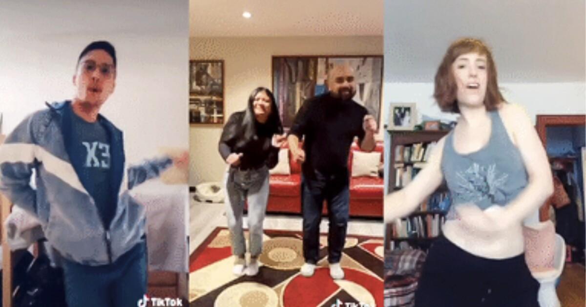 TT :  Tous les âges dansent sur TikTok pendant la quarantaine des coronavirus , influenceur