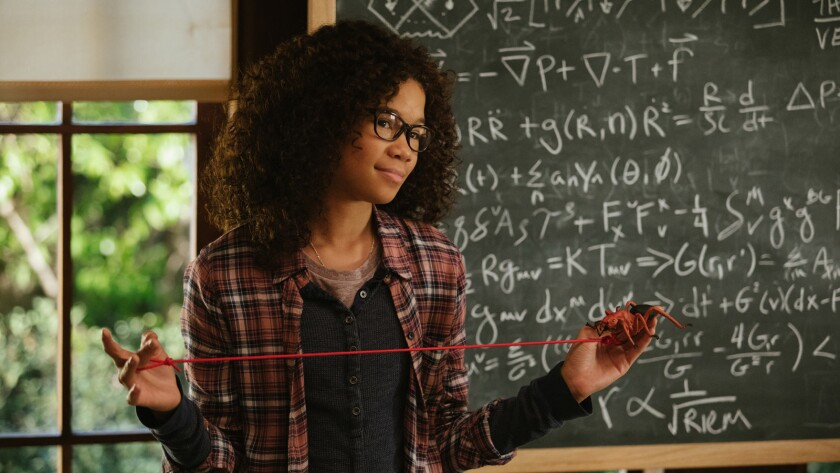 """Storm Reid in the movie """"A Wrinkle in Time."""""""