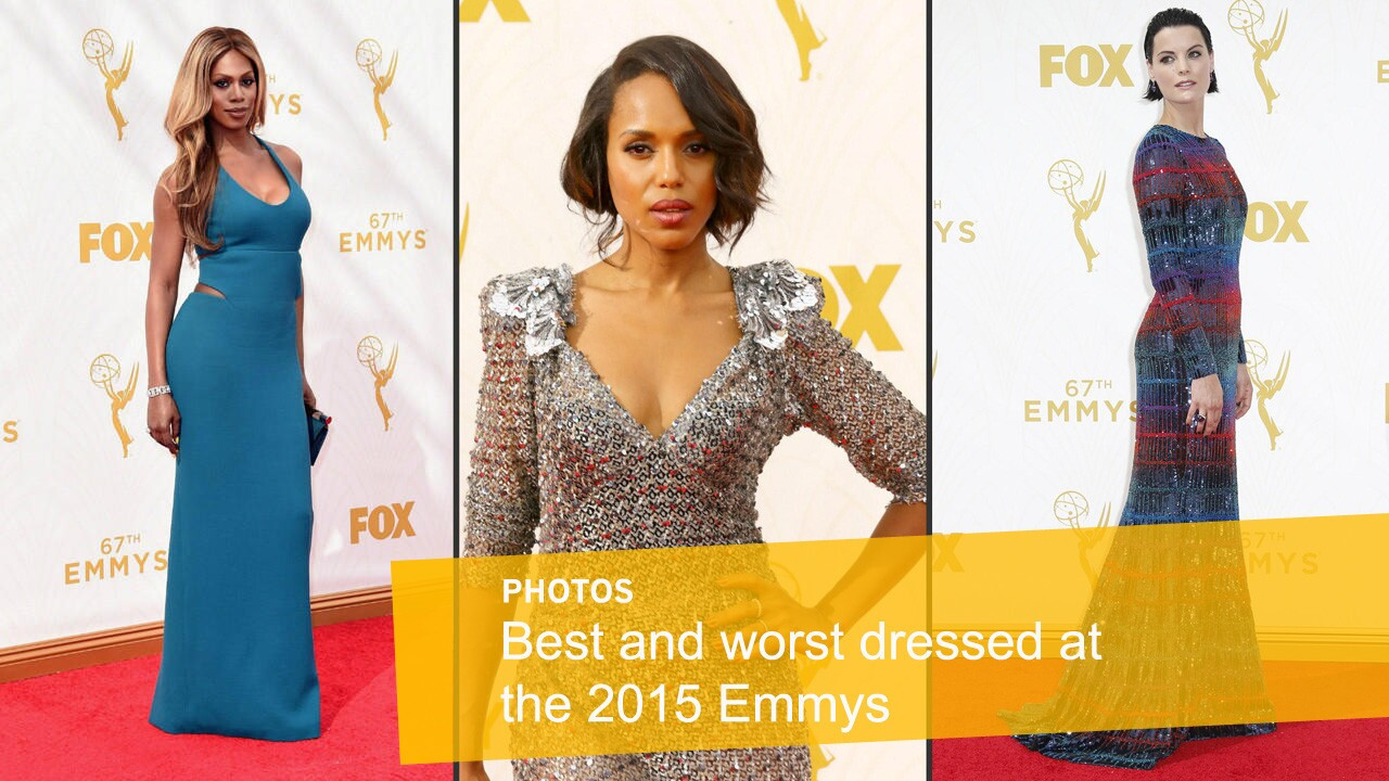 Best and worst dressed at the 2015 Emmys