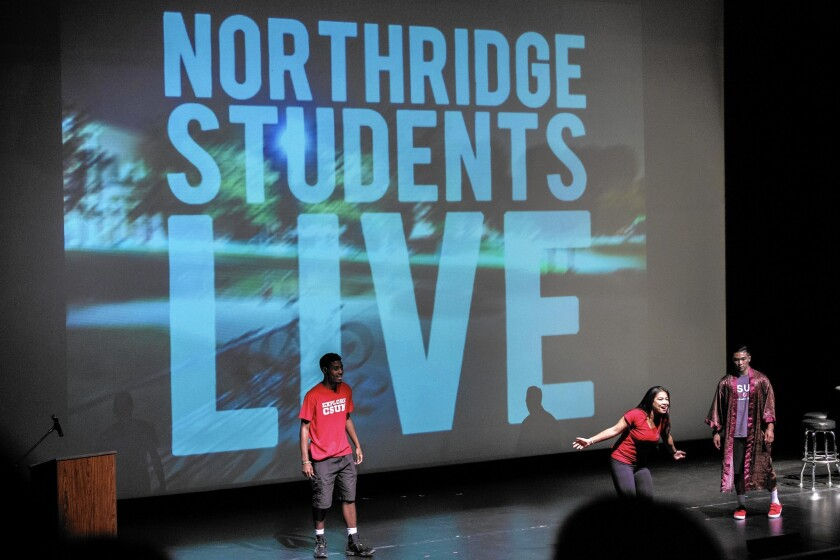 Cal State Northridge holds an orientation for freshmen in August at which they learned about a wellness center on campus.