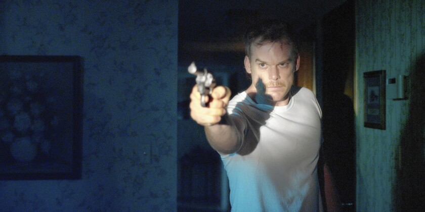 """Michael C. Hall in """"Cold In July."""""""