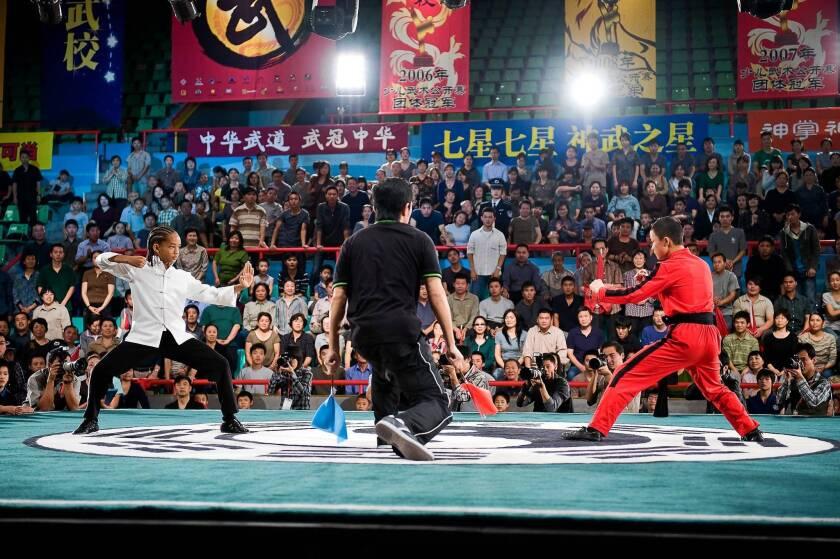 """Jaden Smith in """"The Karate Kid."""""""