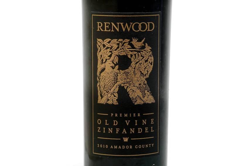 2010 Renwood Zinfandel 'Premier Old Vine': Wine of the Week
