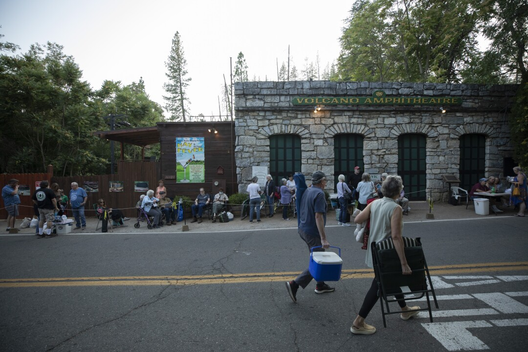 Theater returns to Volcano, Calif. After COVID and fire