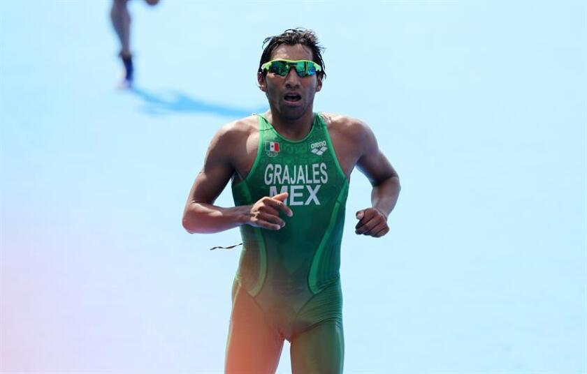 Fotografía de archivo del atleta mexicano Crisanto Grajales. EFE/Archivo