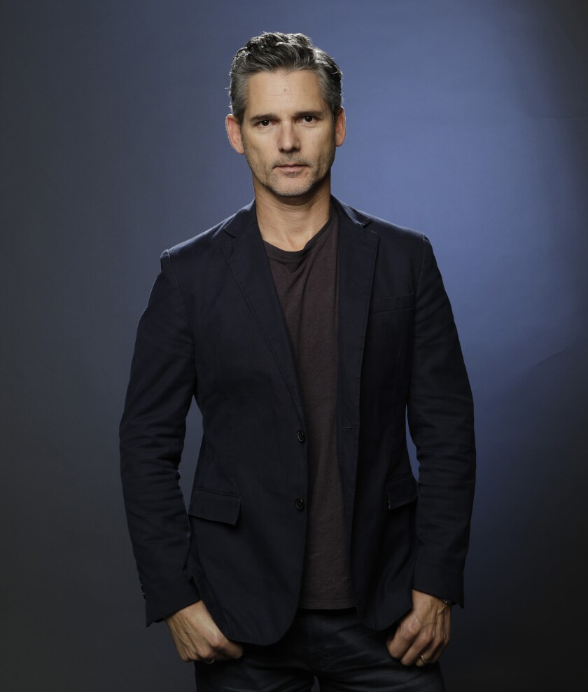 """Eric Bana of """"Dirty John"""" is photographed at the Los Angeles Times studio for an Emmy Contender chat"""