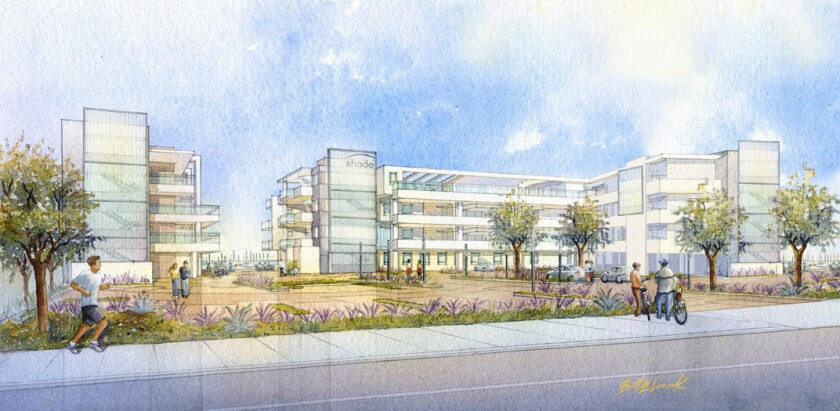 A rendering of Shade Hotel Redondo Beach. The inn is slated to open in 2015.