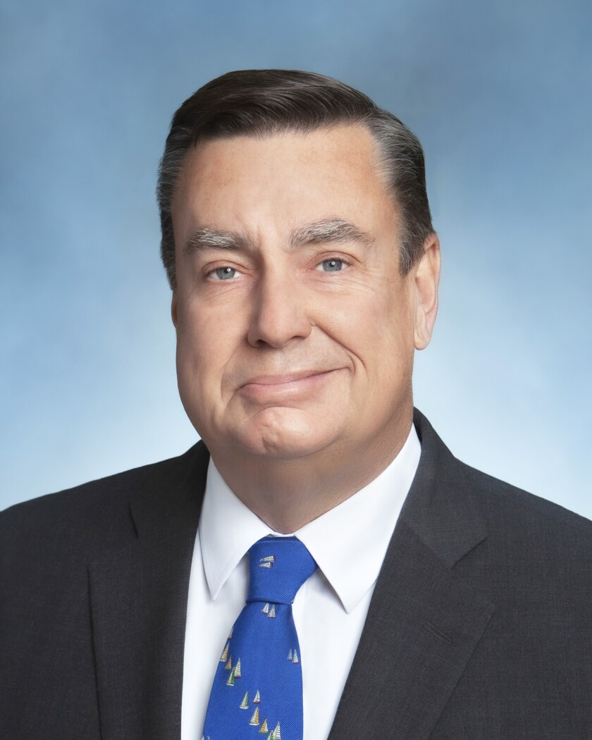 San Diego County Supervisor Joel Anderson