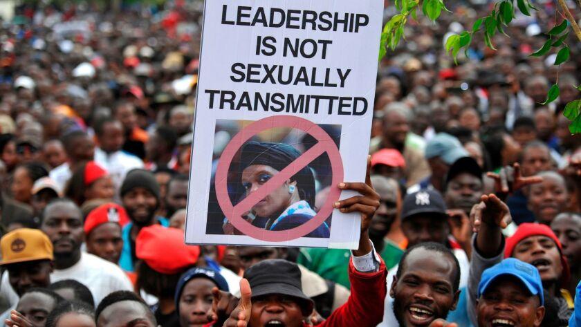 TOPSHOT-ZIMBABWE-POLITICS-DEMO