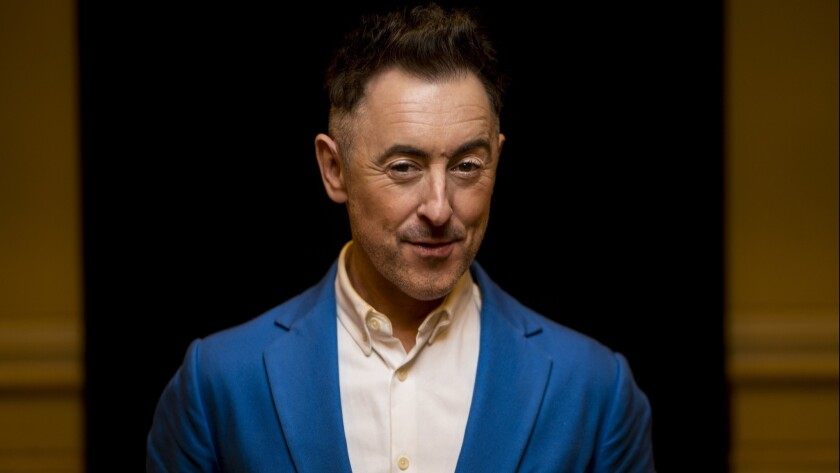 PASADENA, CA - JANUARY 06: Actor Alan Cumming poses for a portrait in the Wentworth Room at The Lang