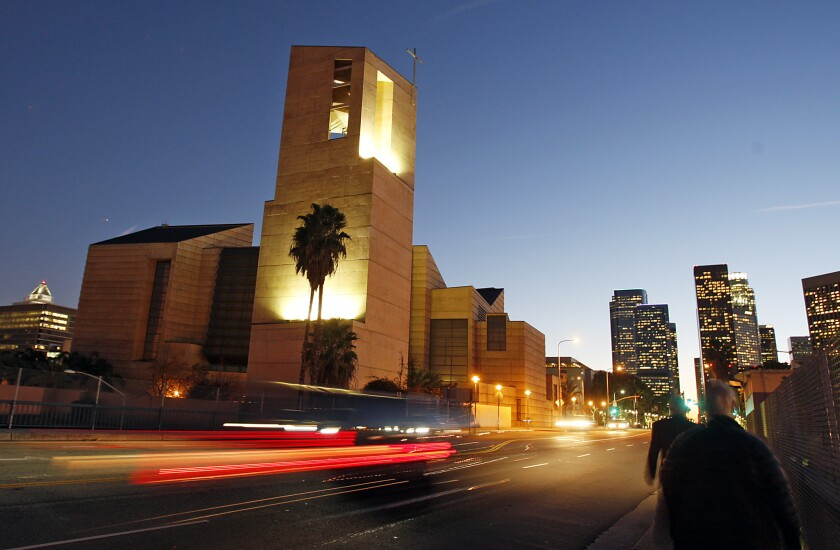 The Los Angeles Archdiocese has settled a sex abuse case for $1.9-million.