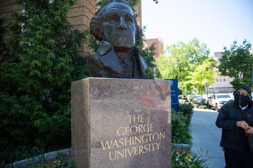 Jessica Krug, a professor at George Washington University, has resigned.