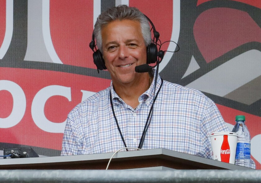 Cincinnati Reds broadcaster Thom Brennaman
