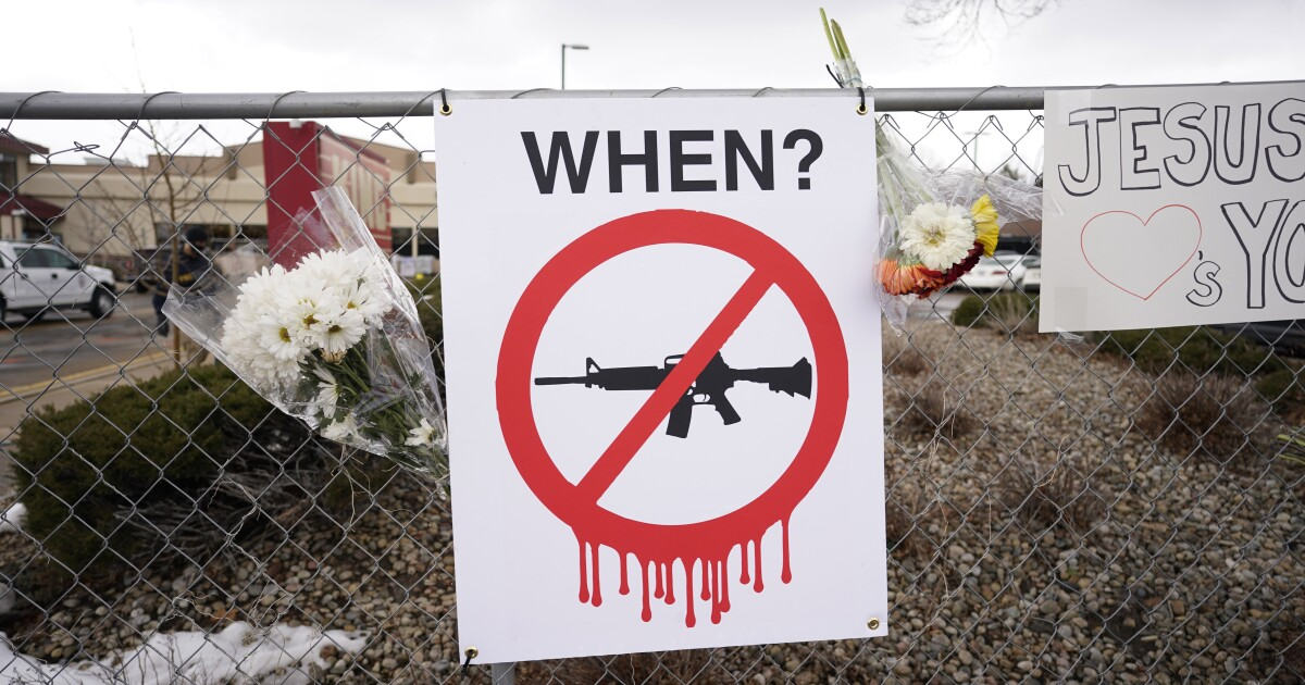 After Boulder shooting, gun reform is again gaining steam - Los Angeles Times