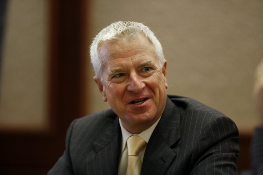 Chargers special counsel Mark Fabiani. / Photo by Peggy Peattie * U-T